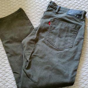 Levi's 511 Commuter Jeans 40x32 - Olive